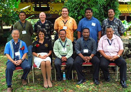 APIPA Principals at 2012 APIPA Conference, Palau